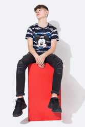 HYPE DISNEY MICKEY MONO TIE DYE KIDS T-SHIRT