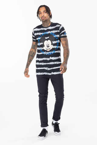 HYPE DISNEY MICKEY MONO TIE DYE MENS T-SHIRT