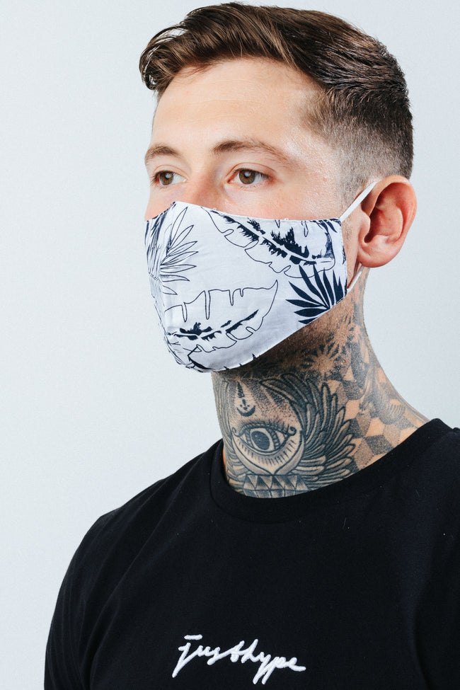 HYPE ADULT BLUE BOTANICS FACE MASK