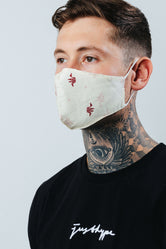 HYPE ADULT RED ORIGAMI FACE MASK