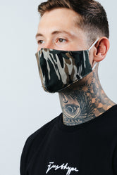 HYPE ADULT CAMOUFLAGE FACE MASK