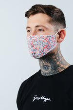 HYPE ADULT PINK BLOSSOM FACE MASK