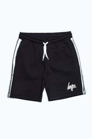 HYPE SILVER PANEL KIDS SHORTS