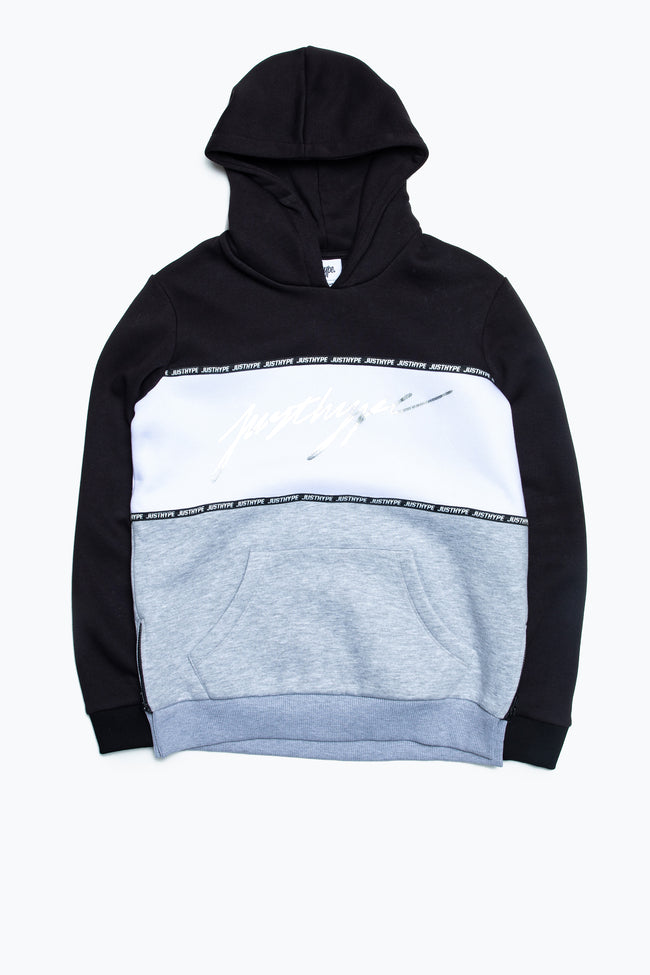 HYPE TAPE 3 PANEL KIDS PULLOVER HOODIE