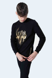 HYPE GOLD DRIPS SCRIPT KIDS CREWNECK