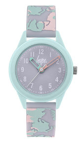 HYPE PASTEL UNICORN KIDS WATCH