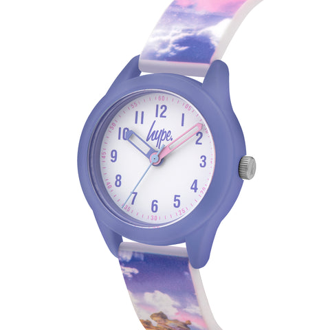 HYPE ANGEL RAINBOW SKIES KIDS WATCH