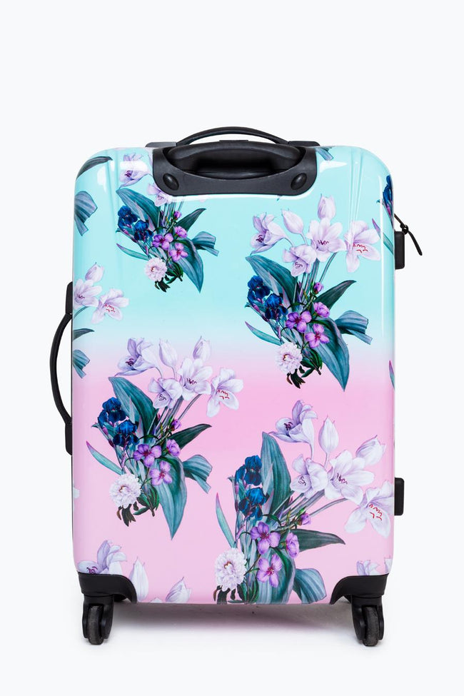HYPE MEDIUM FLORAL FADE SUITCASE