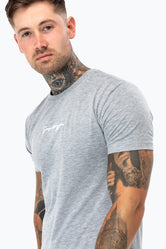 HYPE GREY SCRIBBLE T-SHIRT
