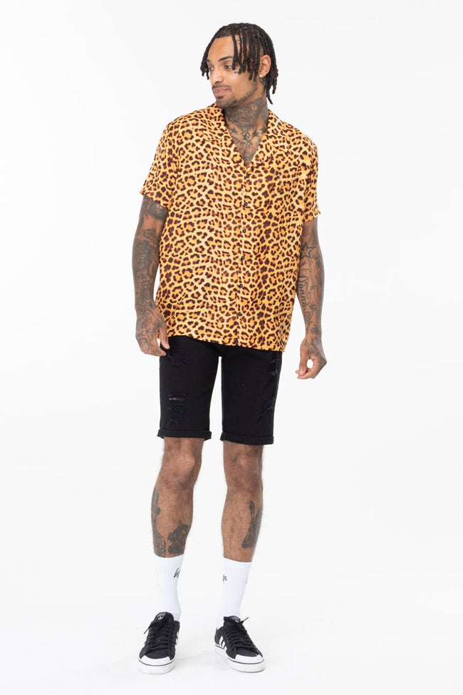 HYPE LEOPARD MEN'S SHIRT