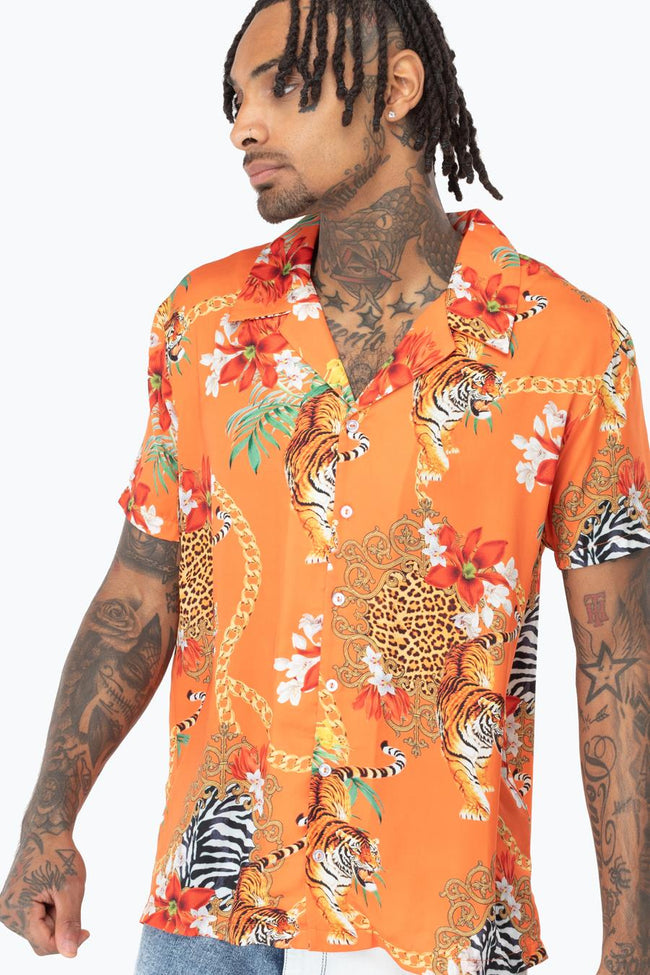 HYPE TIGER CHAINS MEN'S SHIRT