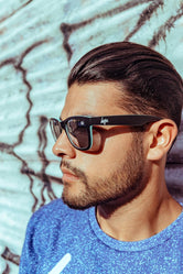 HYPE BLACK HYPEFARER TWO SUNGLASSES