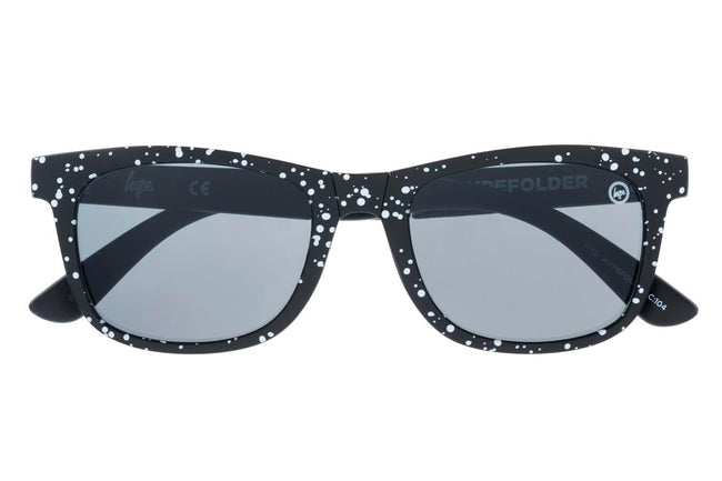 HYPE BLACK SPECKLE HYPEFOLDER SUNGLASSES
