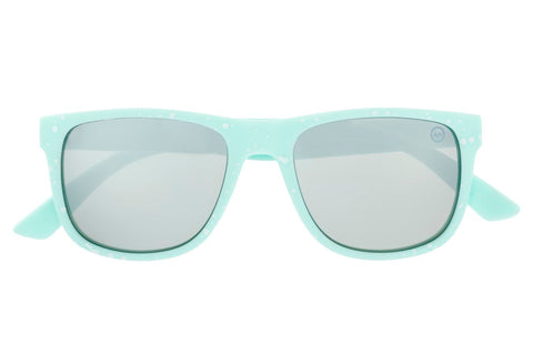 HYPE MINT SPECKLE HYPERETRO SUNGLASSES