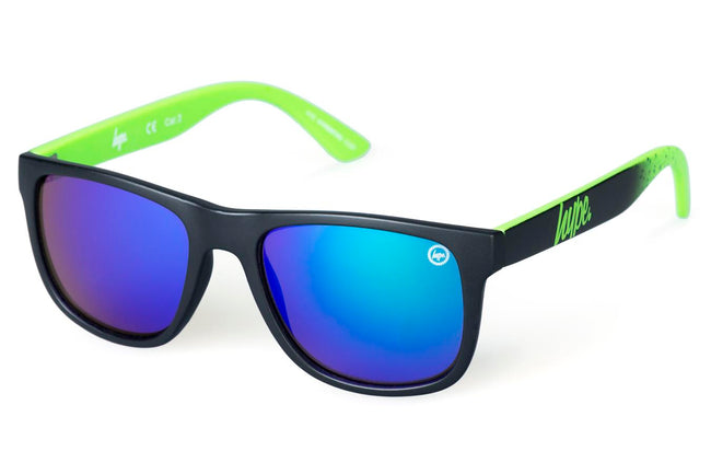 HYPE NAVY SPECKLE HYPERETRO SUNGLASSES
