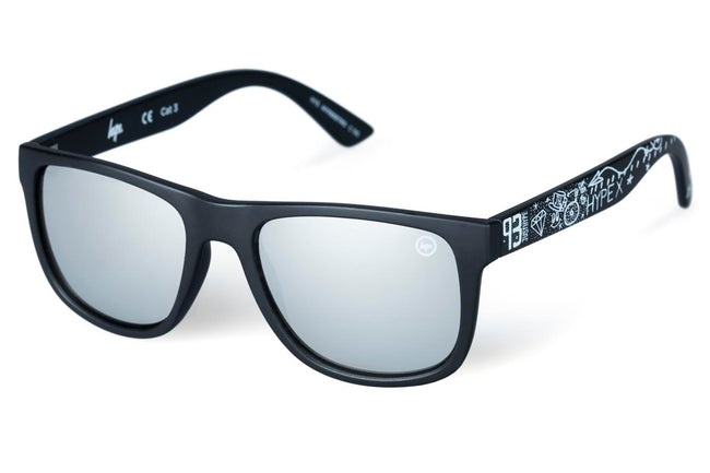 HYPE BLACK GRAFFITI HYPERETRO SUNGLASSES