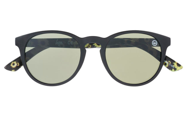 HYPE BLACK SUNFLOWERS HYPEROUND SUNGLASSES