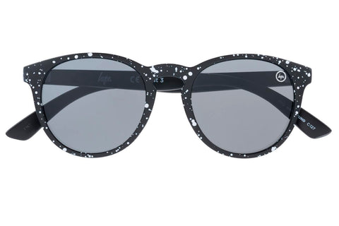 HYPE BLACK SPECKLE HYPEROUND SUNGLASSES