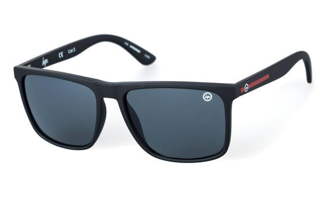 HYPE BLACK BOLD TEXT SUNGLASSES