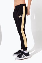 HYPE GOLD FOIL PANEL KIDS JOGGERS