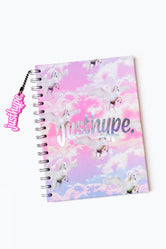 HYPE PINK UNICORN A5 NOTEBOOK WITH RUBBER CHARM
