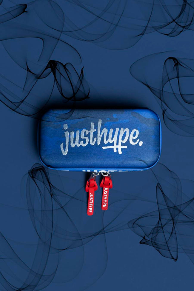 HYPE BLUE CAMO NEOPRENE PENCIL CASE