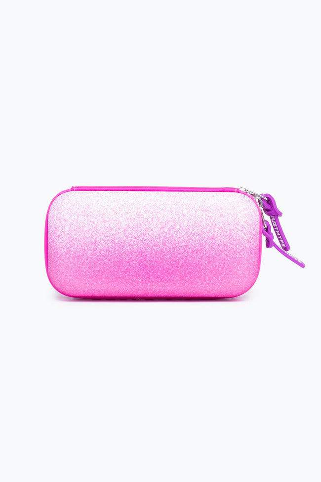 HYPE PINK SPECKLE NEOPRENE PENCIL CASE