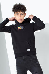 HYPE TOY STORY BLACK LOCK UP KIDS PULLOVER HOODIE