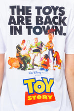 HYPE TOY STORY WHITE POSTER BACK PRINT MENS T-SHIRT