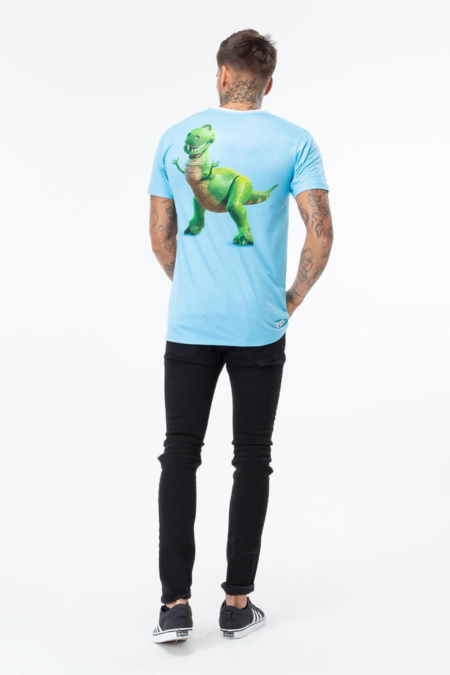 HYPE TOY STORY BLUE REX RINGER MEN'S T-SHIRT