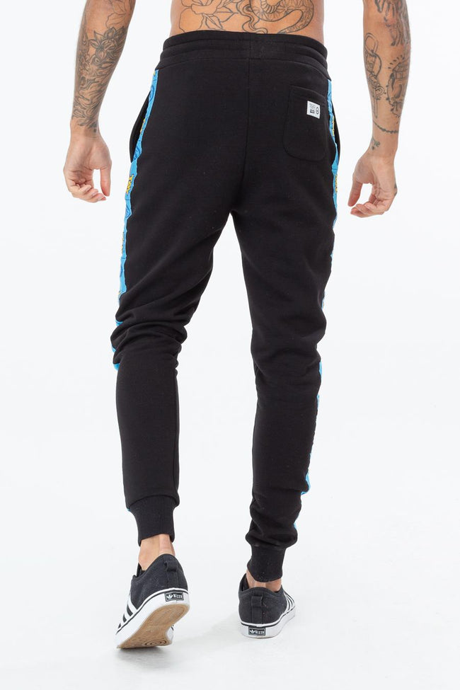 HYPE TOY STORY BLACK LOGO TAPING MEN'S JOGGERS