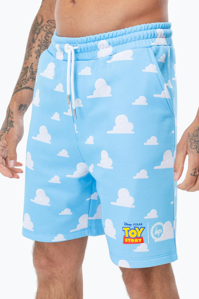 HYPE TOY STORY BLUE CLOUDS MENS SHORTS