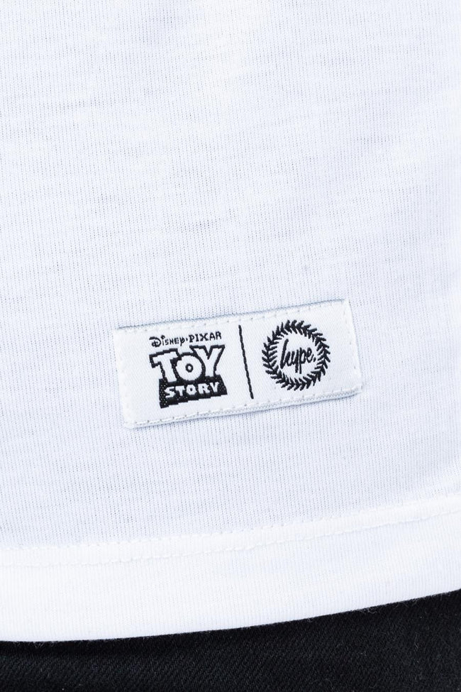 HYPE TOY STORY WHITE SLINKY CAPITAL MENS T-SHIRT