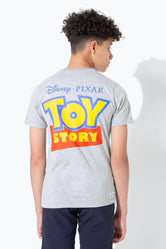 HYPE TOY STORY GREY LOGO SCRIPT KIDS T-SHIRT