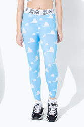HYPE TOY STORY BLUE CLOUDS KIDS LEGGINGS
