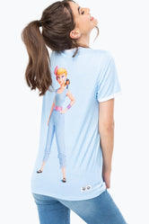 HYPE TOY STORY BLUE BO PEEP WOMENS T-SHIRT