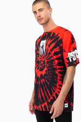 HYPE UNIVERSAL MONSTERS PSYCHO TIE DYE MENS OVERSIZED T-SHIRT