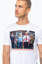 HYPE UNIVERSAL MONSTERS SHAUN OF THE DEAD MENS T-SHIRT