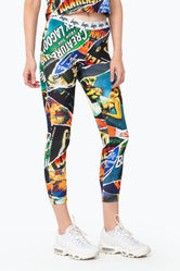 HYPE UNIVERSAL MONSTERS RIPPED MONSTER WOMENS LEGGINGS