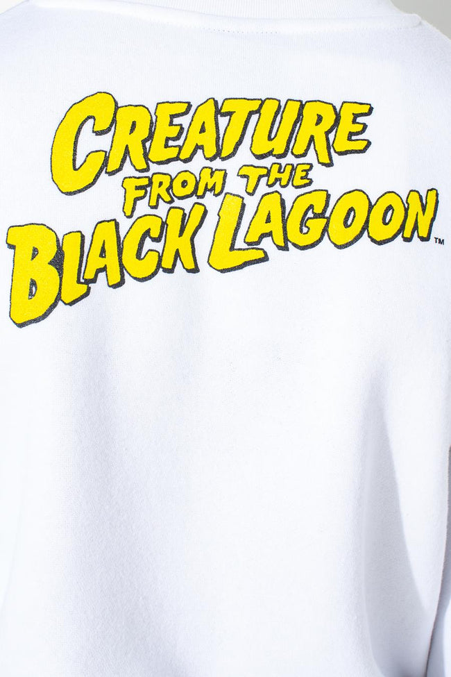 HYPE UNIVERSAL MONSTERS LAGOON CREATURE KIDS OVERSIZED CREW NECK