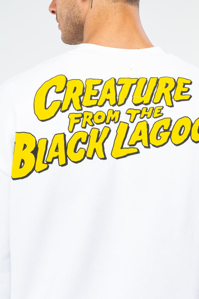 HYPE UNIVERSAL MONSTERS LAGOON CREATURE MENS OVERSIZED CREW NECK