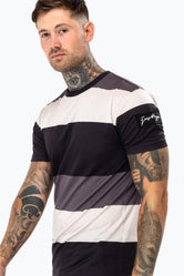 HYPE MONO STRIPES MEN'S T-SHIRT