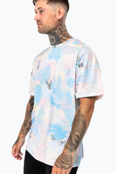 HYPE LIGHT CALM MEN'S OVERSIZED T-SHIRT