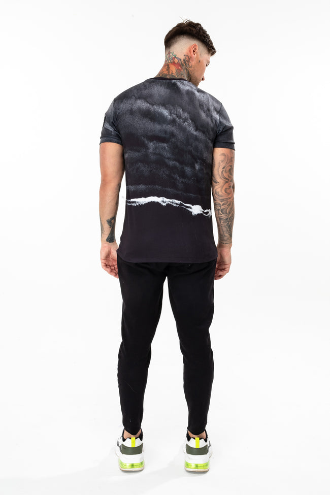 Hype Monochrome Storm Men'S T-Shirt