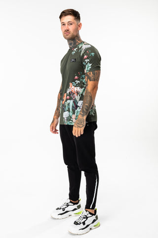 HYPE KHAKI GARDEN MEN'S T-SHIRT