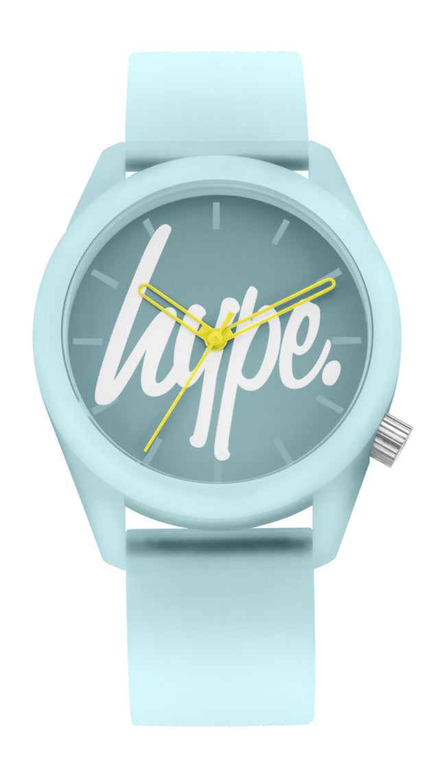 Hype Mint Script Kids Watch