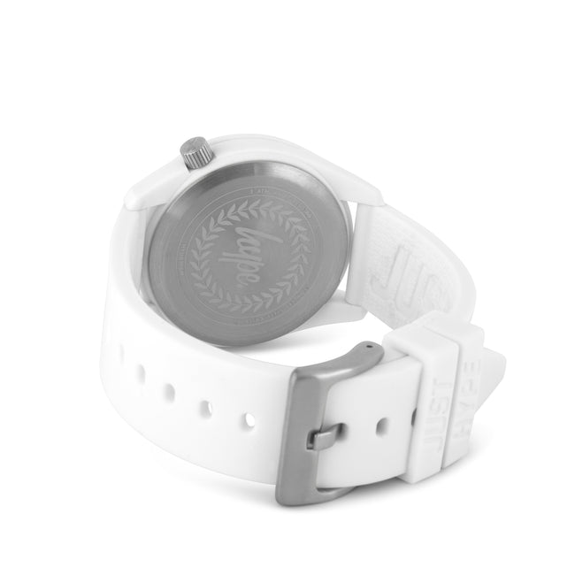 HYPE WHITE AND BLACK JUSTHYPE KIDS WATCH