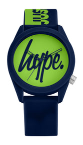 HYPE NAVY AND GREEN JUSTHYPE KIDS WATCH