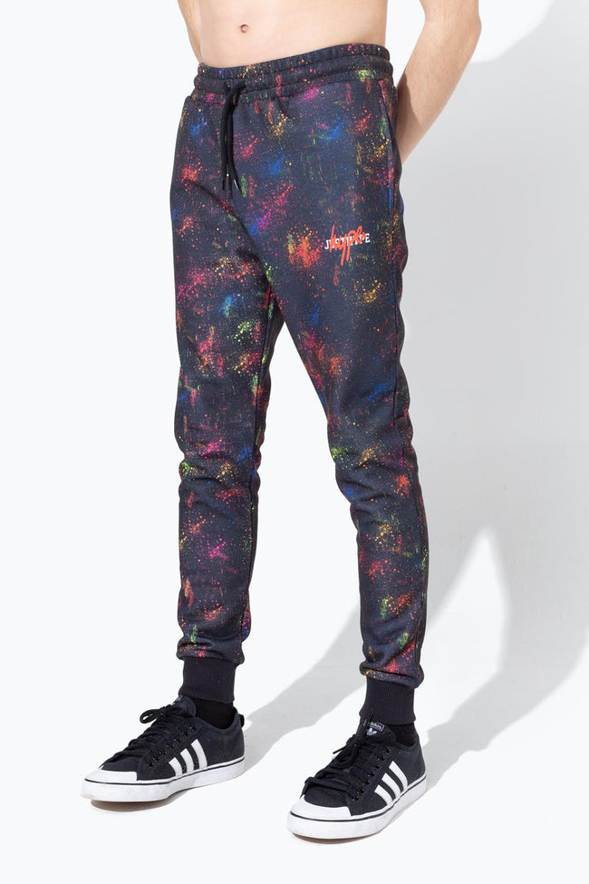 HYPE MULTI SPRAY KIDS JOGGERS