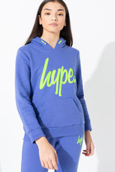 HYPE INDIGO KIDS TRACKSUIT SET